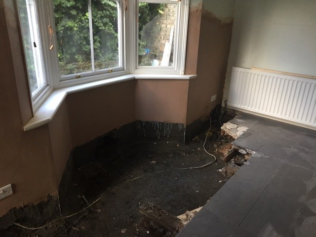 ripped up flooring citydampcoursing
